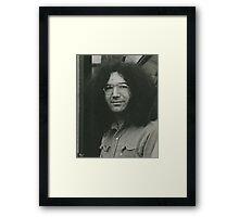 Grateful Garcia Framed Print