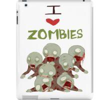 I <3 Zombies iPad Case/Skin