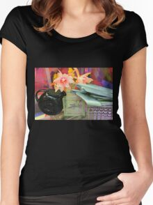 Come Fly With Me, Let's Fly, Let's Fly Away! Women's Fitted Scoop T-Shirt