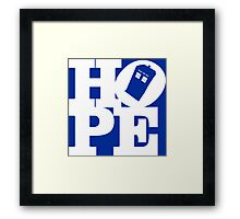 Hope - Doctor Who Framed Print