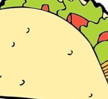 i hate tacos said no juan Sticker
