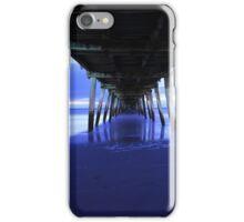 Grange Jetty: One stormy August night iPhone Case/Skin