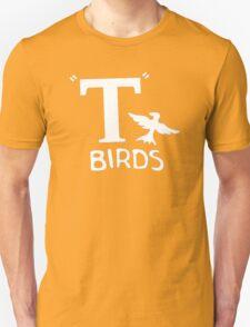T-BIRDS - Mens  Grease John Travolta Rydell High Stag Do T-Shirt