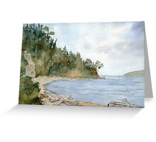 Camano Island, WA  Greeting Card