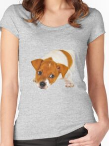 Puppy Women's Fitted Scoop T-Shirt