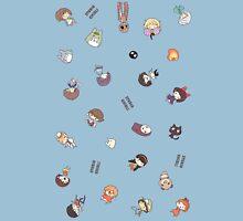 Studio Ghibli Falling Characters Unisex T-Shirt
