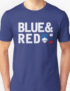 ManuElla - Blue and Red T-Shirt