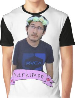 Markiplier (Level: Flower crown) Graphic T-Shirt