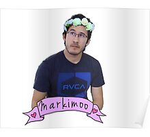 Markiplier (Level: Flower crown) Poster