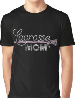 Lacrosse Mom Graphic T-Shirt
