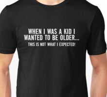 kid older Unisex T-Shirt