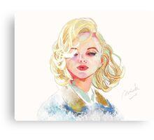 #3 To Monroe Canvas Print