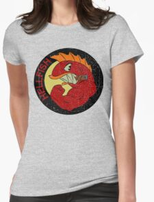 Flying Hellfish Womens Fitted T-Shirt
