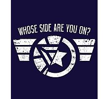 Who's side are you on? Photographic Print