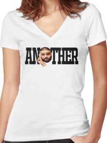Dj Khaled - Another One Women's Fitted V-Neck T-Shirt