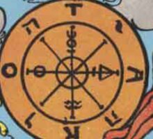 Tarot Card - Wheel of Fortune Sticker