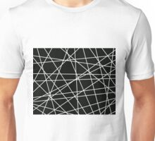 White Lattice Unisex T-Shirt