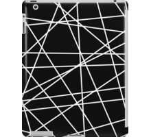 White Lattice iPad Case/Skin