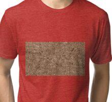 irregular shape copper pattern Tri-blend T-Shirt