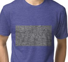 irregular shape silver pattern Tri-blend T-Shirt