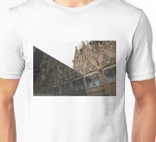 Reflecting on Sagrada Familia, Antoni Gaudi's Masterpiece Unisex T-Shirt