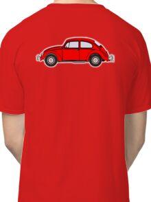 VW, Volkswagen, Beetle, Bug, Motor, Car, RED Classic T-Shirt