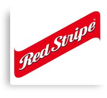 RED STRIPE BEER LAGER Canvas Print