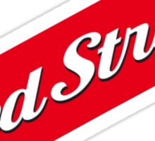 RED STRIPE BEER LAGER Sticker