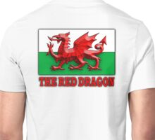 WELSH FLAG, WALES, WELSH, RED DRAGON, WALES,  Unisex T-Shirt