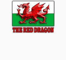 WELSH FLAG, WALES, WELSH, RED DRAGON OF WALES,  Unisex T-Shirt