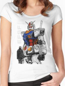Gundam Women's Fitted Scoop T-Shirt