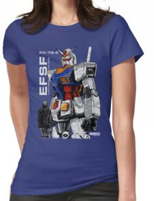 Gundam Womens Fitted T-Shirt