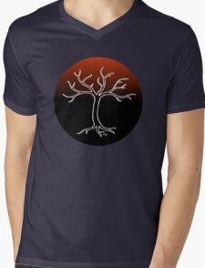 eGgs Willow Design Mens V-Neck T-Shirt