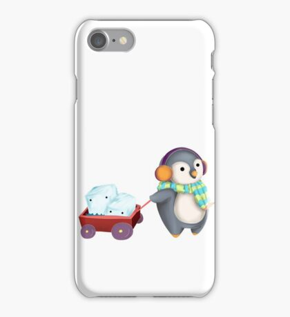 Chill Penguin iPhone Case/Skin