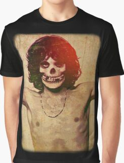 THE MISFITS JIM MORRISON Mash Up (Vintage/black) Graphic T-Shirt