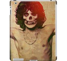 THE MISFITS JIM MORRISON Mash Up (Vintage/black) iPad Case/Skin