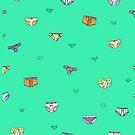 Pattern of Panties by Elvedee