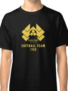 Nakatomi Corporation Softball Team Classic T-Shirt