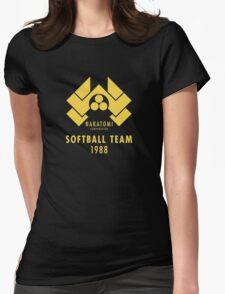 Nakatomi Corporation Softball Team Womens Fitted T-Shirt