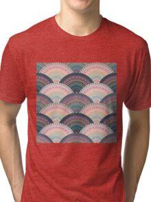 Fan Greek patterns, Meander Tri-blend T-Shirt