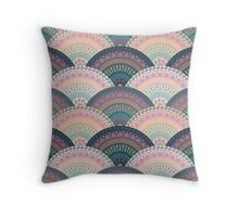 Fan Greek patterns, Meander Throw Pillow