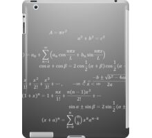 Math iPad Case/Skin