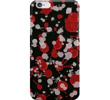 Abstract Splat 1 iPhone Case/Skin