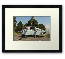 Military helicopter KA-32 Framed Print