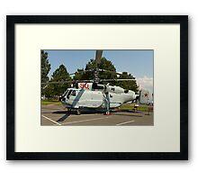 Military helicopter KA-32 Framed Print