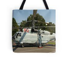 Military helicopter KA-32 Tote Bag