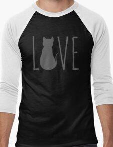 love cats Men's Baseball ¾ T-Shirt