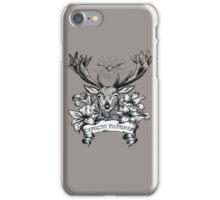 Expecto patronum deer iPhone Case/Skin