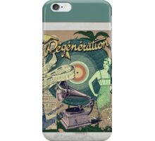 Regeneration Retro Affiche iPhone Case/Skin