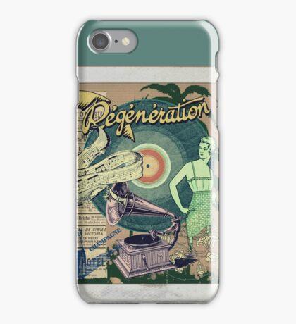 Regeneration Retro Affiche iPhone Case/Skin